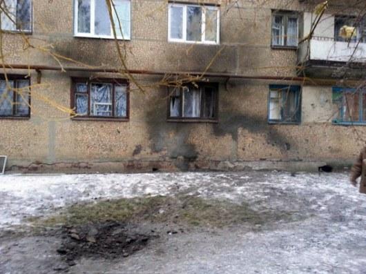 ВТорецке обстрелом повреждены два дома, вСветлодарске— многоэтажка